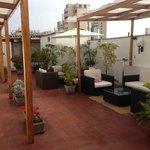 The pleasant terrace
