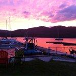 Indian Bay Marina Beautiful Sunsent view