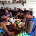 Boys Loving Roti Canai