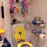Toaletta var verd eit besøk!