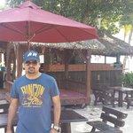 Cafe at beach