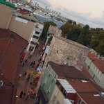 Neyzade Restaurant: roof top views