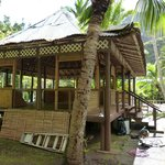 Filipino Building being remodeled at Iao Valley State Park