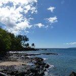 View of the Maui coastline