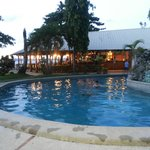 view of the pool and resto