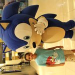 My son Boody met his lovely Sonic
