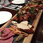 Mixed taster plate at Fiddlesticks