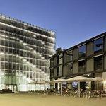 Lage gegenüber dem Kunsthaus Bregenz