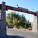 Entrée du Furnace Creek Ranch