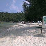 Strandabschnitt, ca 100m rechts Restaurant von My Way