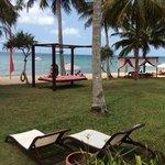 vue depuis chambre type beachfront villa