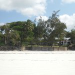Diani Beachalets from the beach