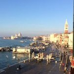 Vire from room towards St Mark's