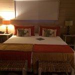 Comfy big bed