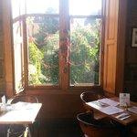Window Seating at the Circle Cafe, Edinburgh