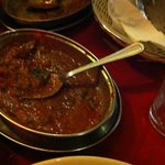 Single portion of lamb masala towards the end ...