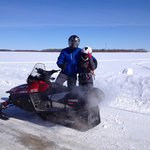Snowmobilers win Furthest Ride Contest