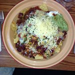 Wow!!!! HUGE NACHOS!!!! What a beautiful meal, place, staff all round lovely!!!
