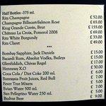 Lista de precios servicio habitación-1