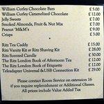 Lista de precios servicio habitación-2