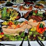 Buffet Food at Shipley Golf Club