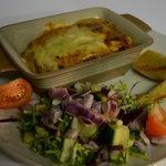 courgette and mushroom lasagna