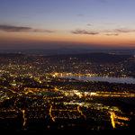 Zürich bei Nacht – vom UTO KULM