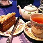 Toffee cake and Spiced Apple Chai