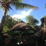 le patio de l'hotel
