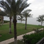 view from the room (1st level) - red sea