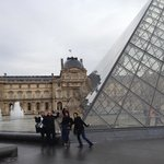 The crazies at the louvre
