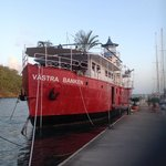 Västra Banken at dock