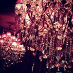 Marias Bar Chandeliers