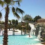 Le parc aquatique chauffé