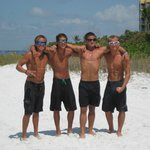 Just a few of our tour guides Gary, Garrett, Jake and Arlin