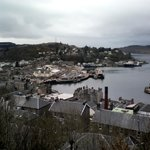 Views of Oban from tower