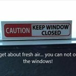 Cant get fresh air