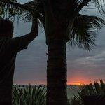 Sunset from Hotel Bambu