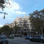 Barcelona, España, Paseo de Gracia. Passeig de Gracia.