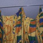 rideau de la séparation cabine