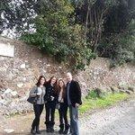 Via Appia Antica on our 8-hour tour.