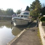 The Linssen Holiday Hire boat From Hobbs of Henley great holiday on the Thames