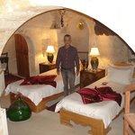 Sleeping in a cave at Museum Hotel in Kapadokya