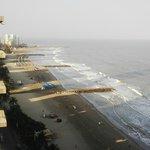 Vista de las playas de Bocagrande