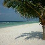 Beach outside our Villa