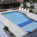 Nuestra siempre impecable piscina
