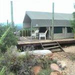 Onze tent bungalow