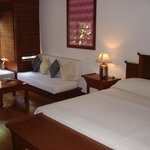 Master bedroom at Governor's Residence  suite in Yangon