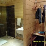lodge 1   ensuite  to the double bedroom
