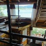 Interior cabaña de dos pisos
